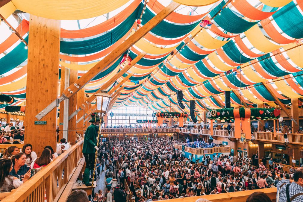 In These Tents You Can Already Reserve For The Oktoberfest